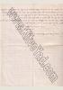 Letter by R. yechiel mordchai Gordon